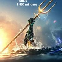 Aquaman ya llegó a los 1.000 millones de dólares en taquilla