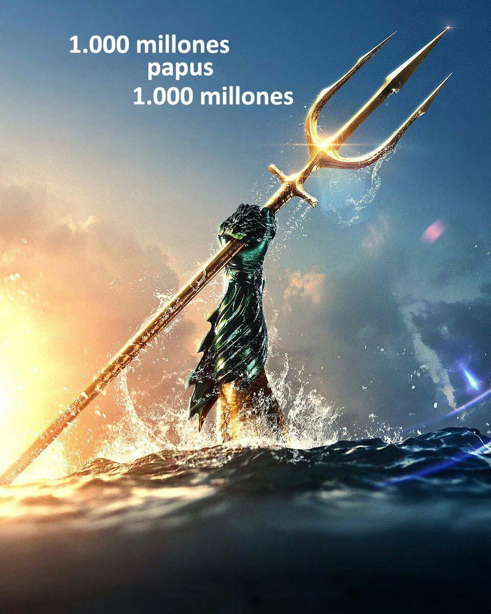Aquaman ya llegó a los 1.000 millones de dólares entaquilla