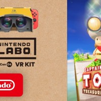Captain Toad: Treasure Tracker ya es compatible con Nintendo Labo VR