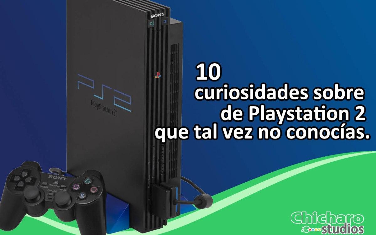 10 curiosidades sobre Playstation2