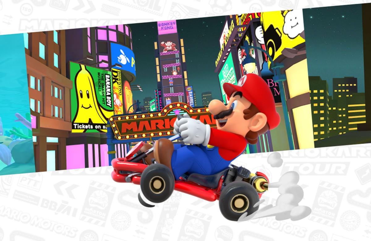 Mario Kart Tour se lanza el 25 de septiembre, y celebra con trailer ygameplay