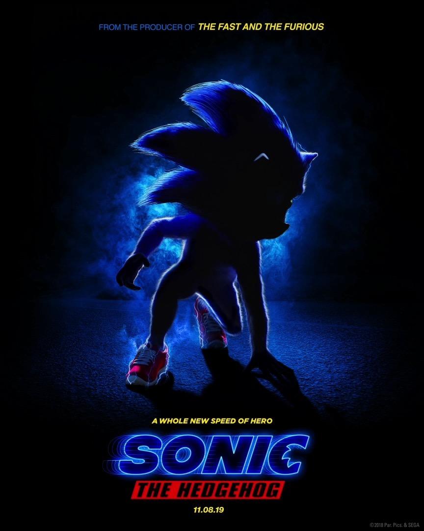 Así es el nuevo póster de la película deSonic