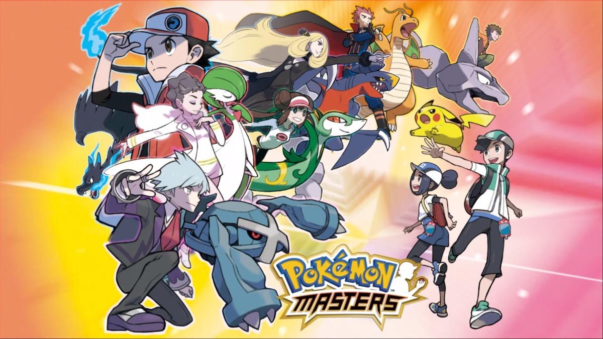 Pokémon Masters triunfa en Smartphones y ya suma 10 millones de descargas en 4días