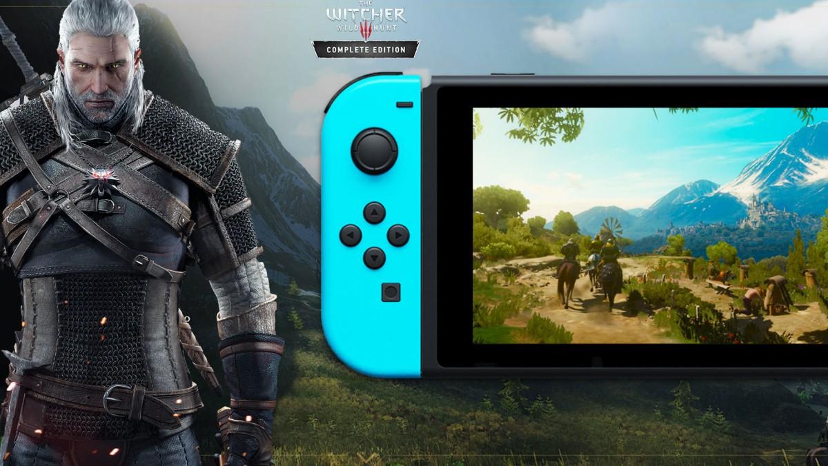 CD Projekt Red nos dice que The Witcher 3 en Switch luceincreíble