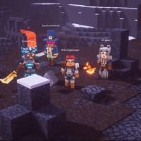 Minecraft Dungeons se muestra en la conferencia de Microsoft -E32019-