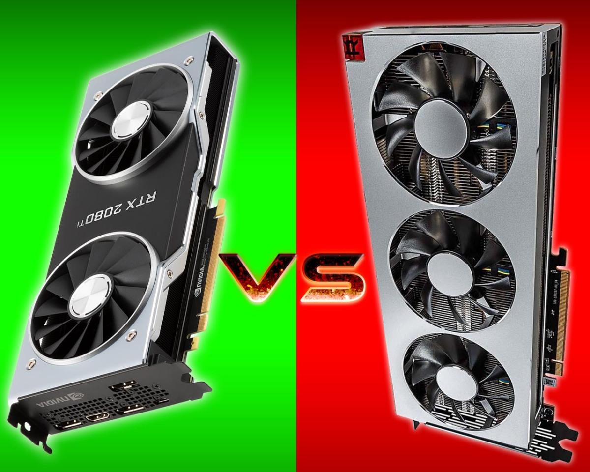 Nvidia 2080ti vs Radeon VII cara a cara en una comparación gráfica en8k