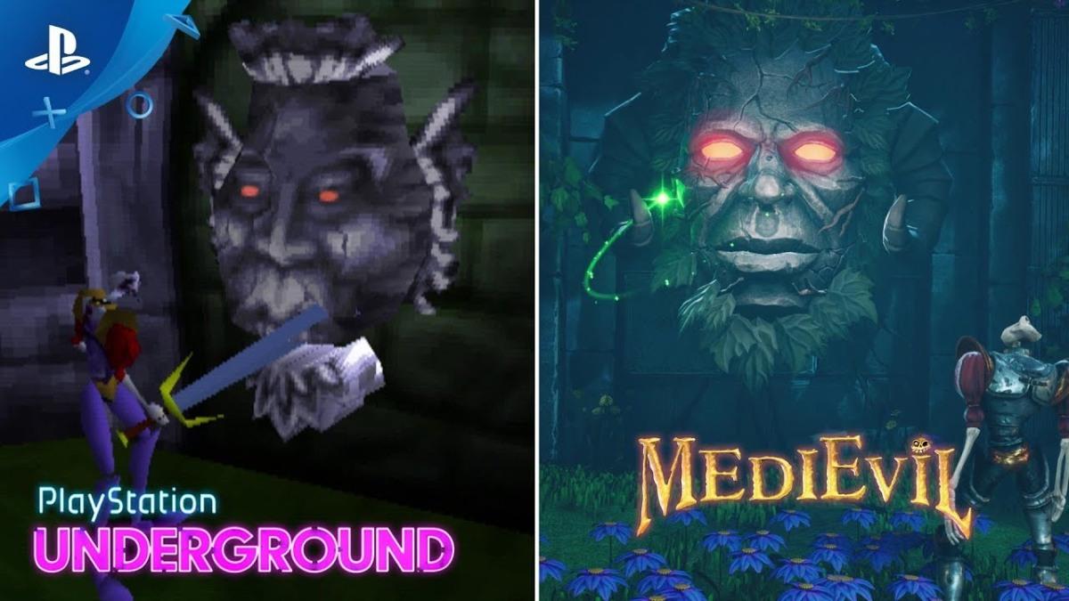 MediEvil Remake 1998 vs 2019 PlaystationUnderground