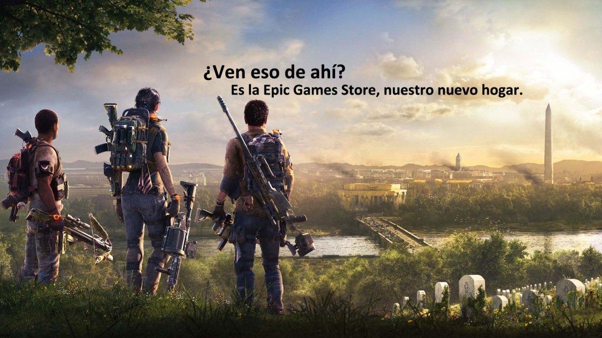 The Division 2 se pasa de largo en Steam y llegará a la Epic GamesStore