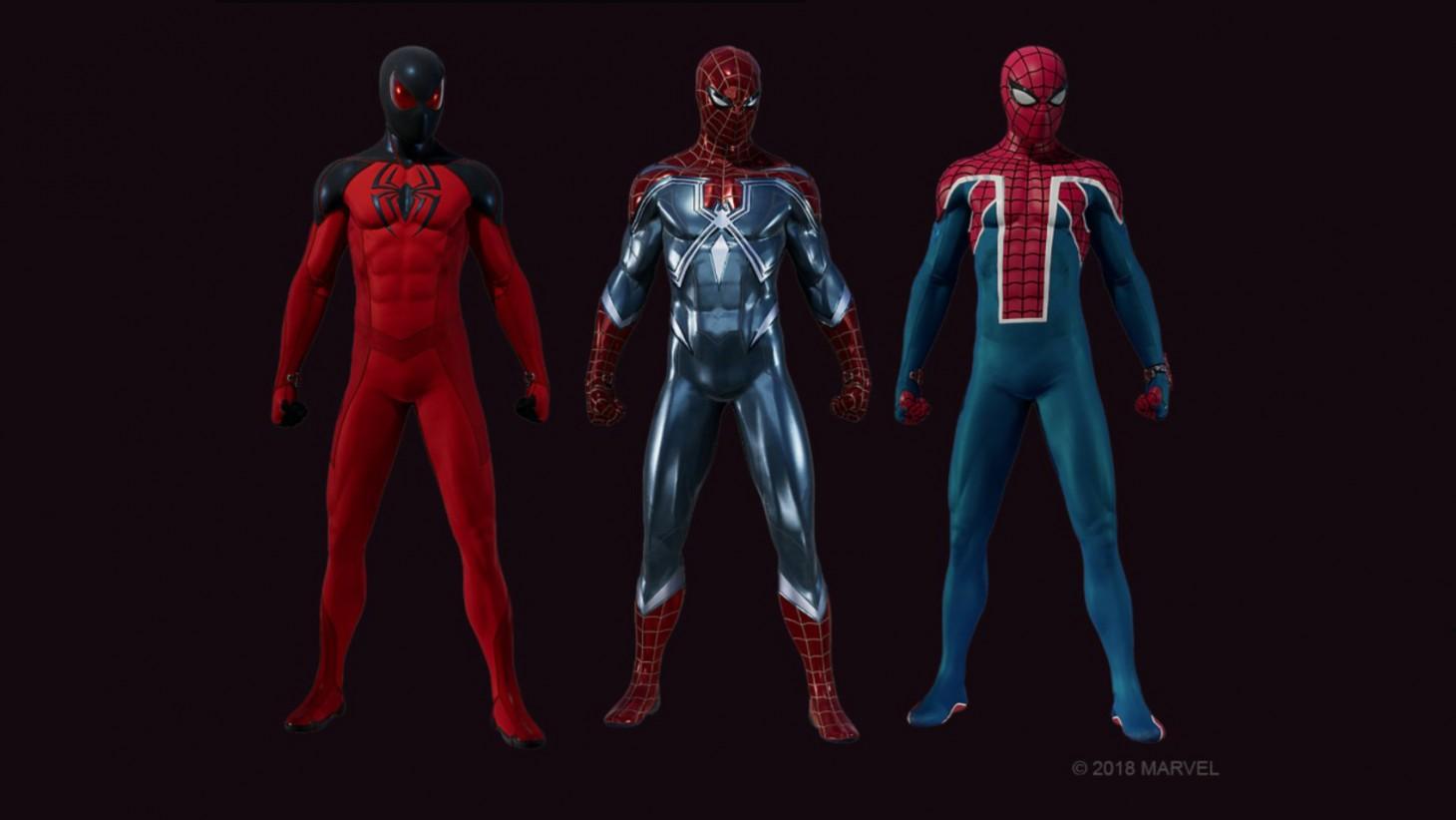 spiderman-nuevos-trajes