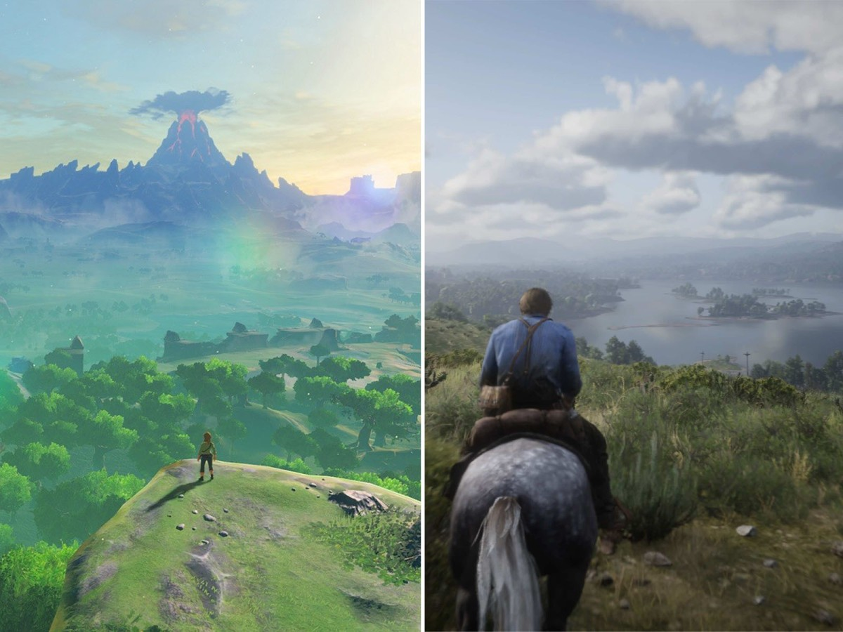 Red Dead Redemption 2 vs Zelda Breath of theWild