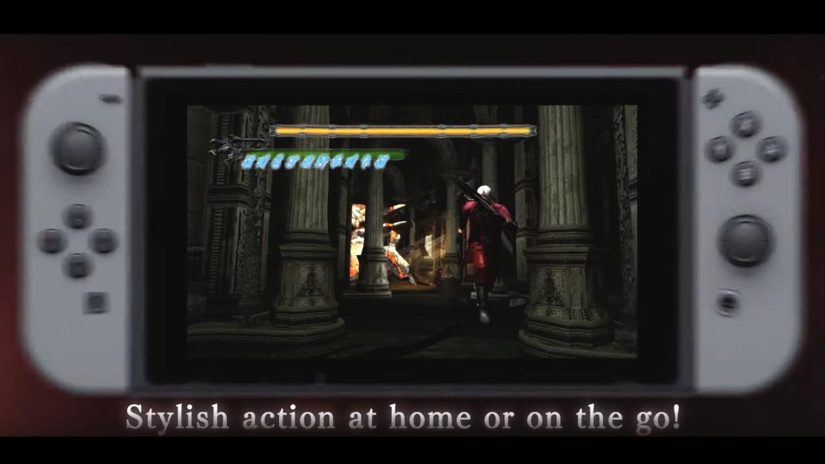 Devil May Cry ya esta disponible en Switch, tenemos trailer y comparacióngráfica