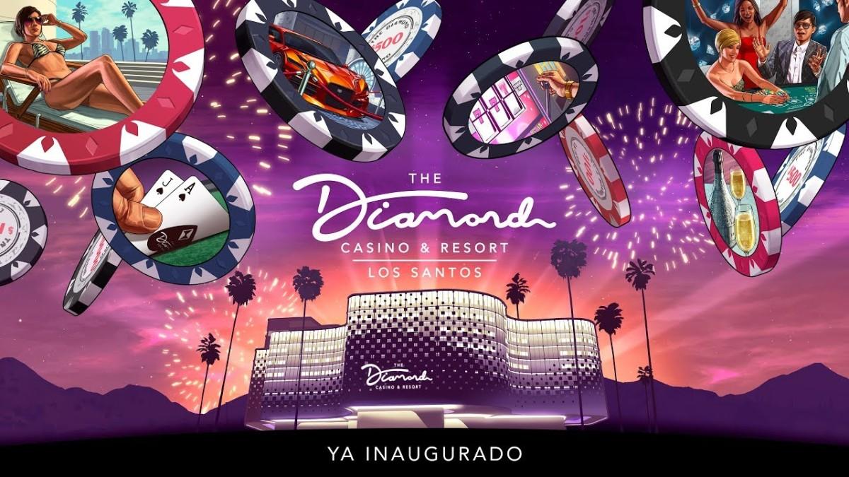 El Diamond Casino abre sus puertas finalmente en LosSantos