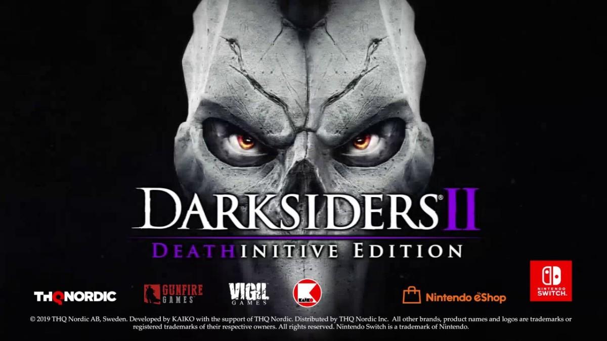 Darksiders 2 Switch