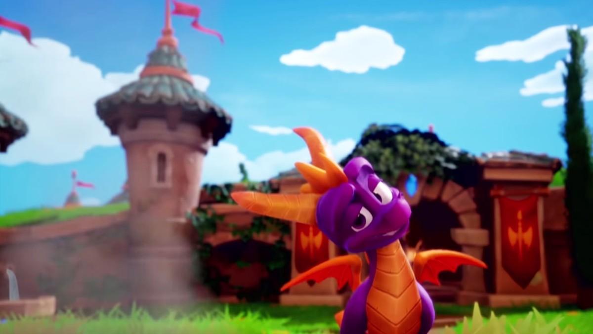 Spyro Reignited Trilogy estrena trailer delanzamiento