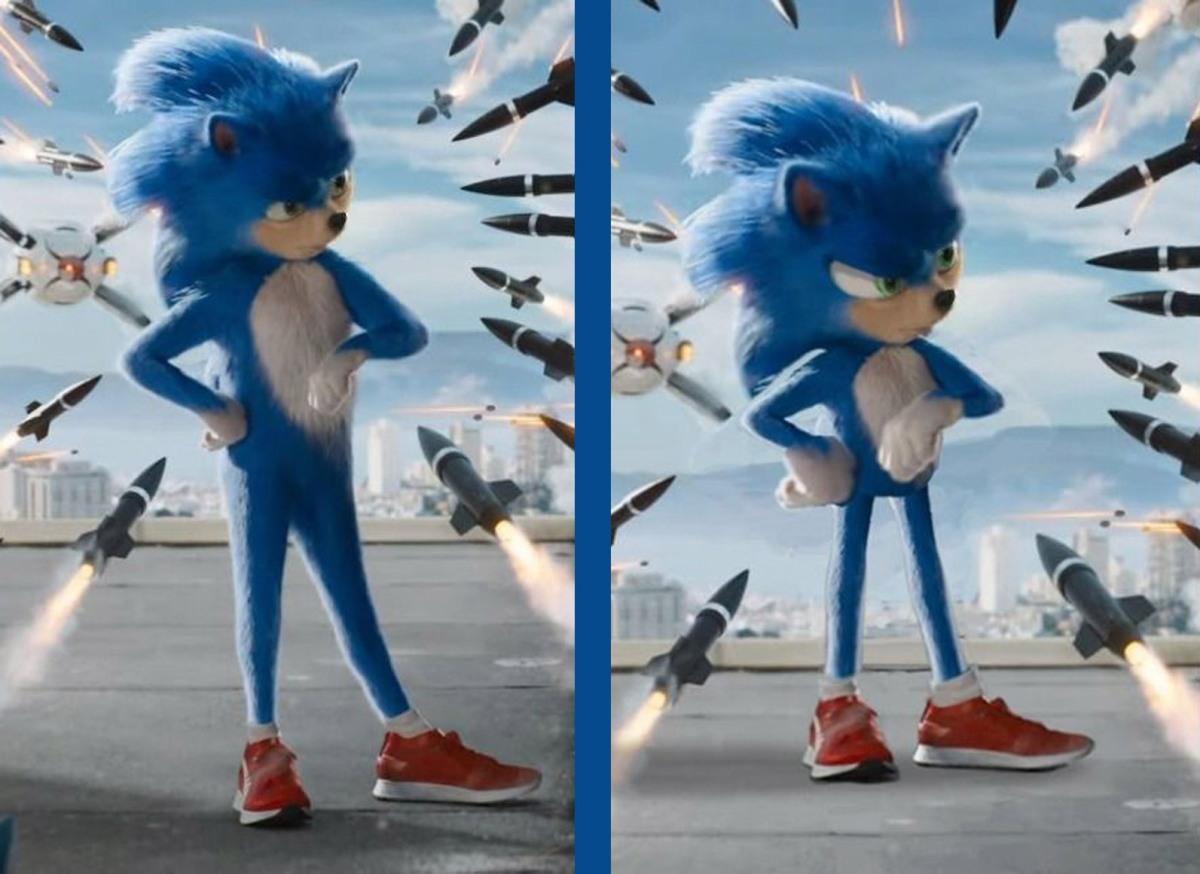 Sonic cambiará su diseño para satisfacer a losfans