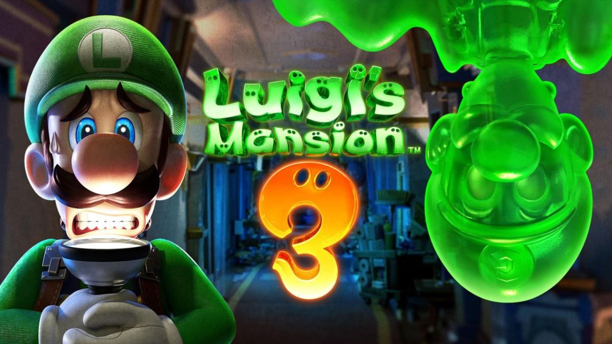 Luigi's Mansion 3 disponible el 31 deoctubre