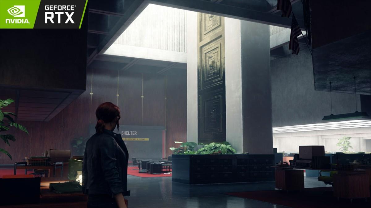 Nvidia muestra como se ve Control con la tecnología RayTracing