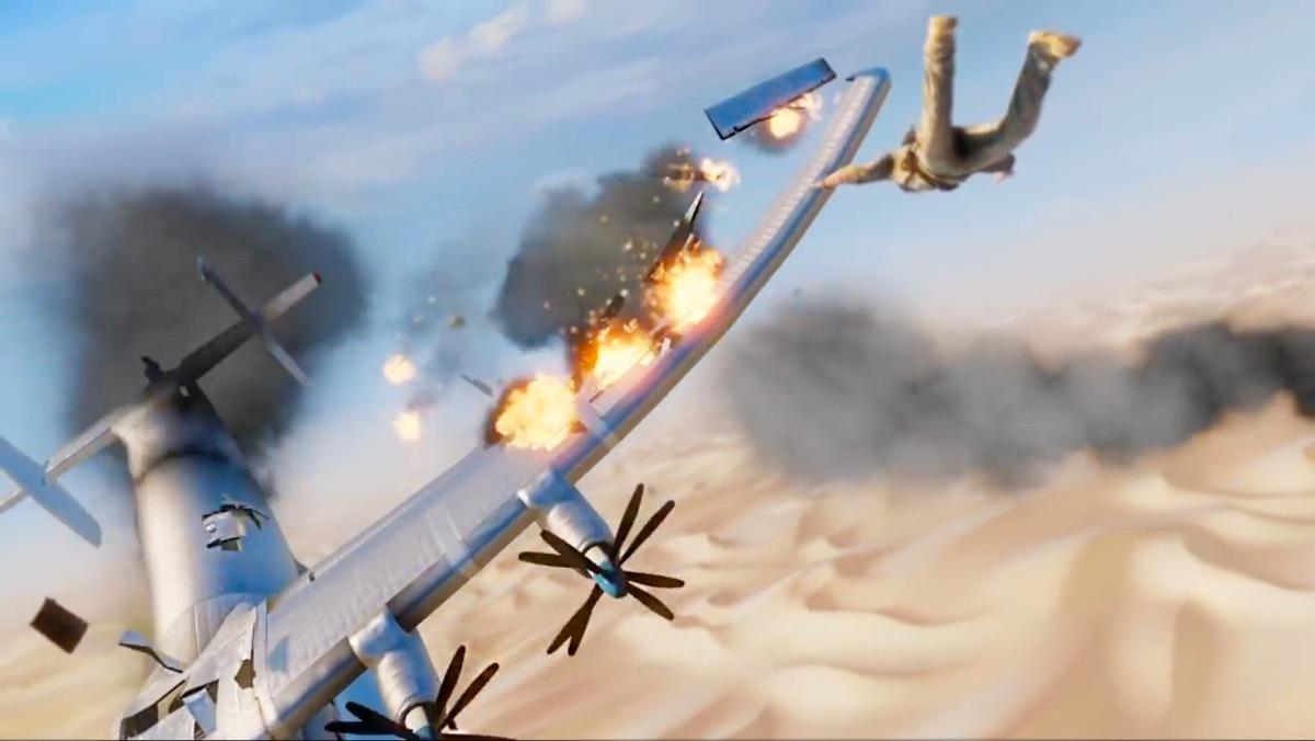 Mejores Momentos – Uncharted 3 – Escena del AviónEstrellado