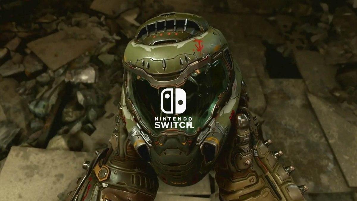 Doom Eternal correrá a 30 fps en NintendoSwitch