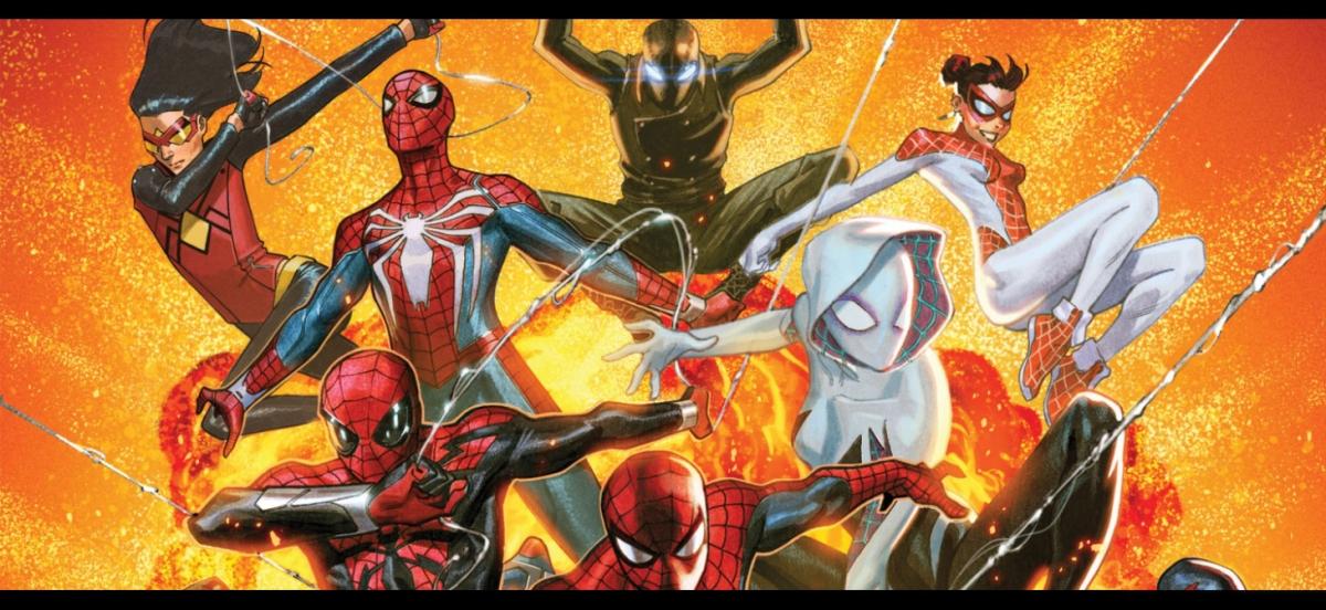 La sombra del Spiderman que faltaba en el póster original del nuevo SpiderGeddon ya ha sidorevelada.