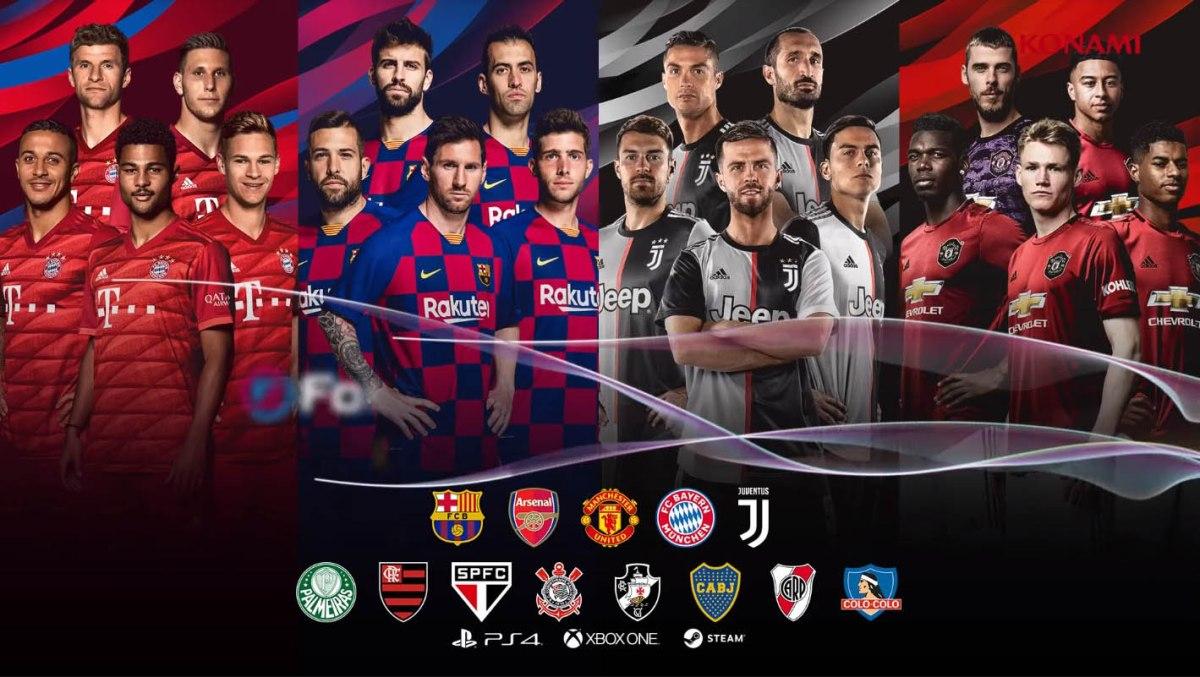 La demo de eFootball PES 2020 ya esta lista paradescargar
