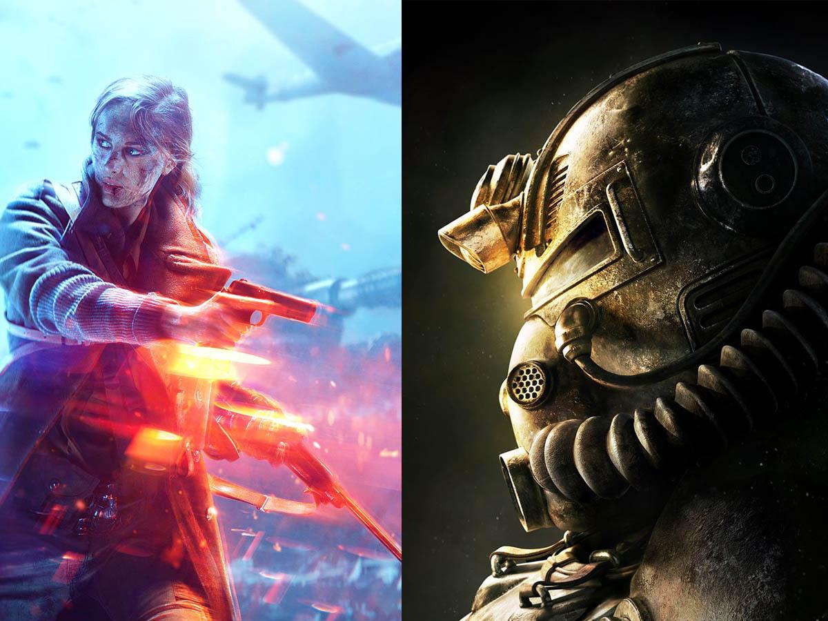 Fallout 76 y Battlefield V venden por debajo de loesperado