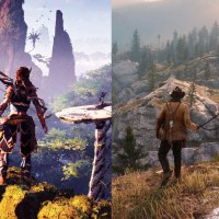Red Dead Redemption 2 VS Horizon Zero Dawn comparación Gráfica