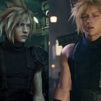 Final Fantasy VII Remake comparación gráfica del trailer
