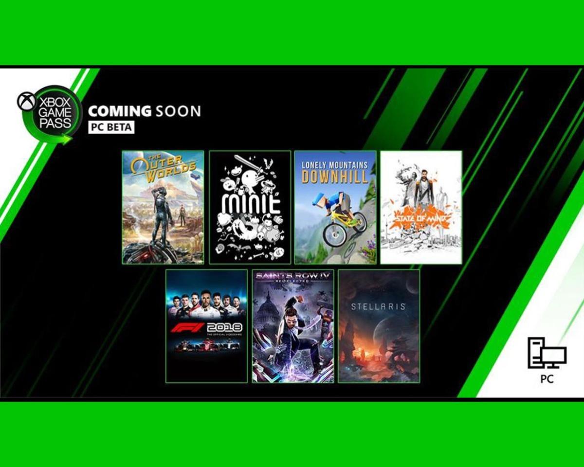 Juegos de Xbox Game Pass para PC, octubre2019