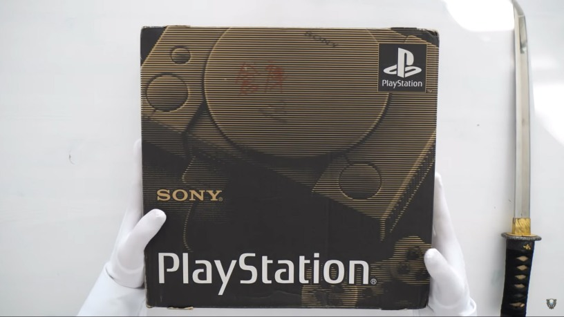 playstation unboxing
