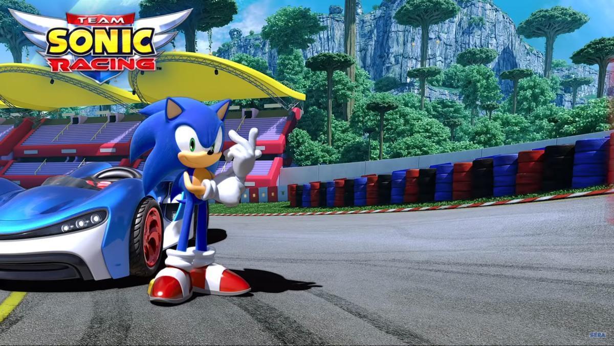 Team Sonic Racing muestra trailer y calienta motores antes de susalida