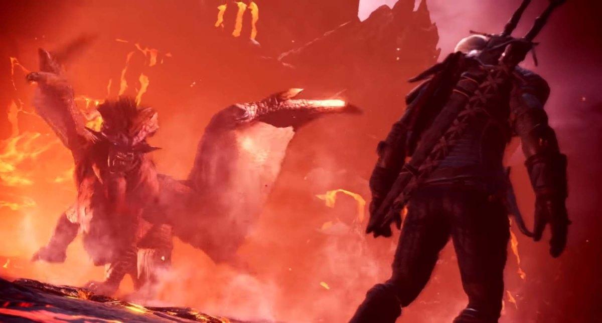 Monster Hunter World: Anuncia DLC y a Geralt de Rivia de The Witcher3