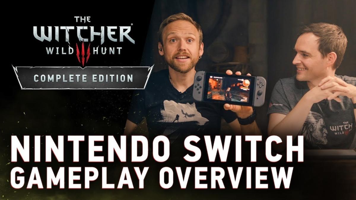 Así de bien se ve The Witcher 3: Wild Hunt Complete Edition en este gameplay de NintendoSwitch