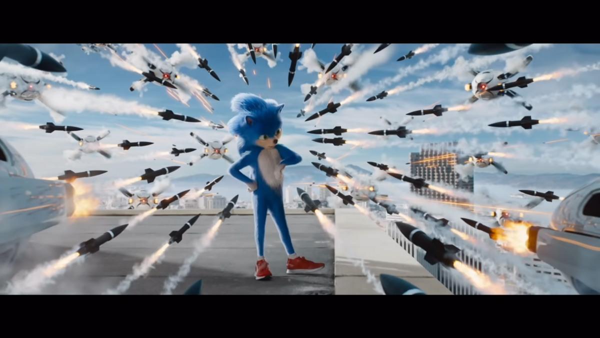Sonic la película trailerespañol