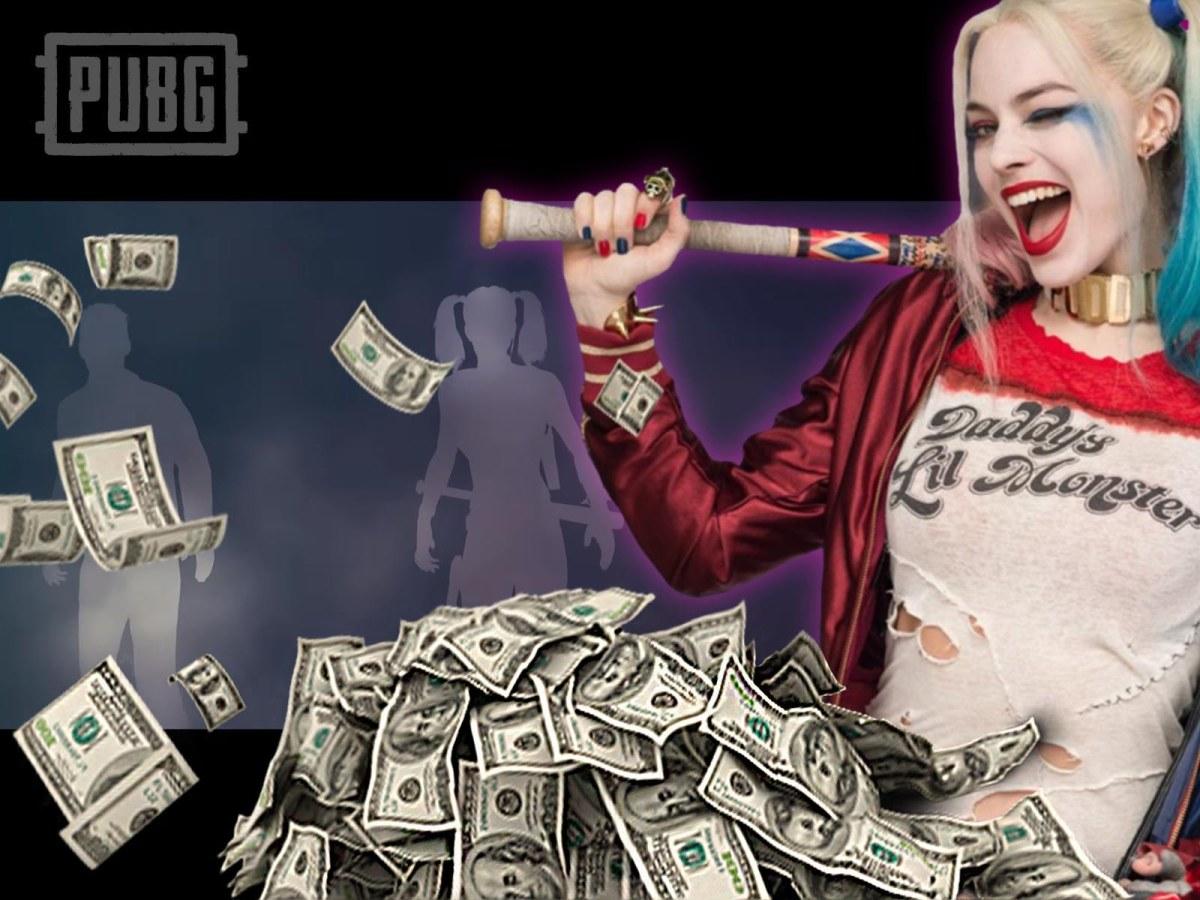 La Skin de Harley Quinn en PUBG cuesta $25dólares