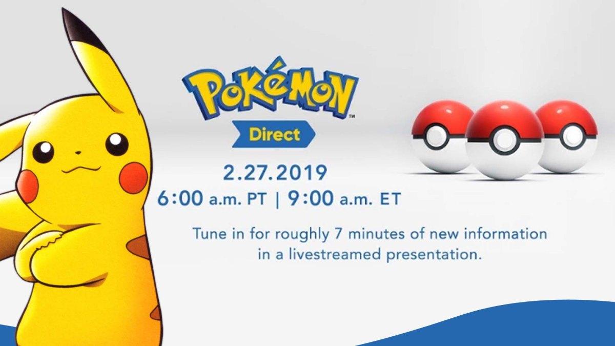 Mañana tendremos un PokemonDirect
