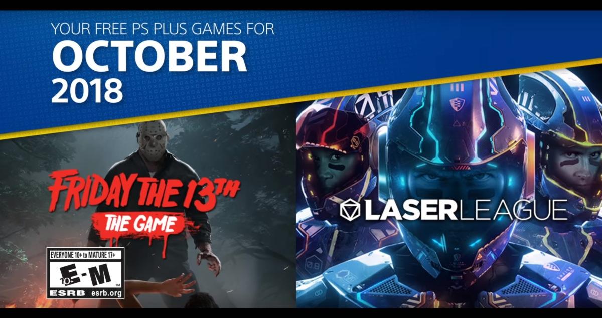 Juegos de Playstation Plus de Octubre2018