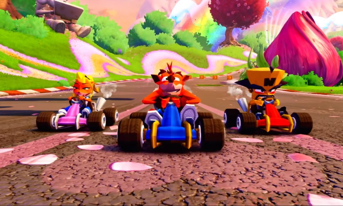Crash Team Racing Nitro Fueled saca sus skinsnoventeras