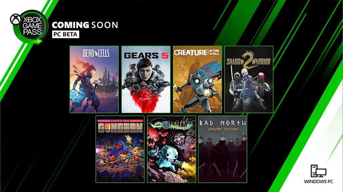 Estos son los juegos de septiembre para el Game Pass dePC