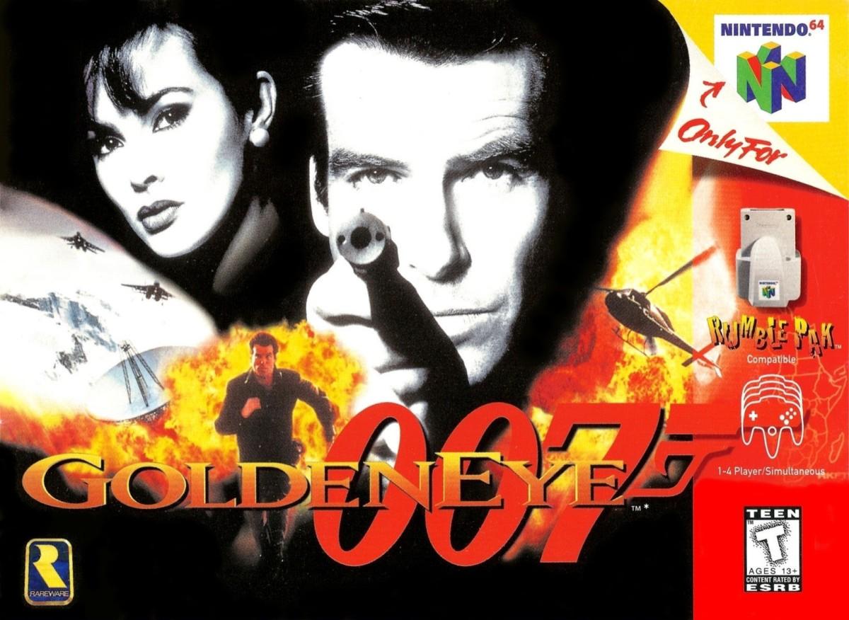 GoldenEye 007 cumple 21 años de sulanzamiento!