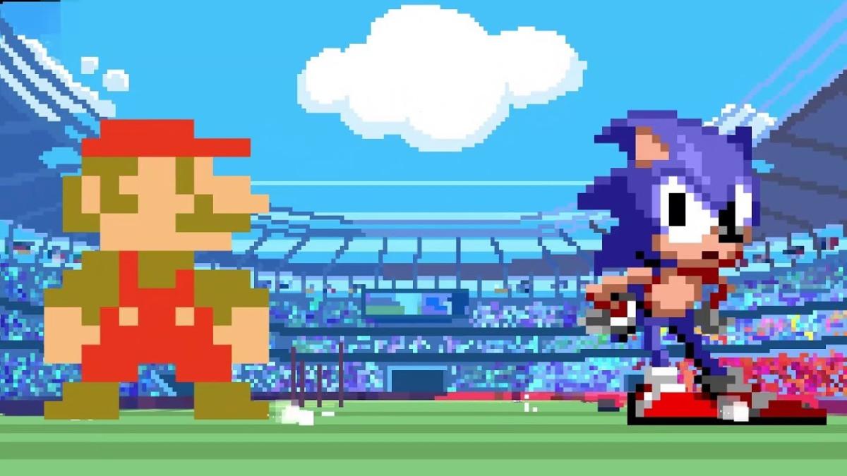 Mario & Sonic at the Olympic Games Tokyo 2020 llegará con eventos en2D