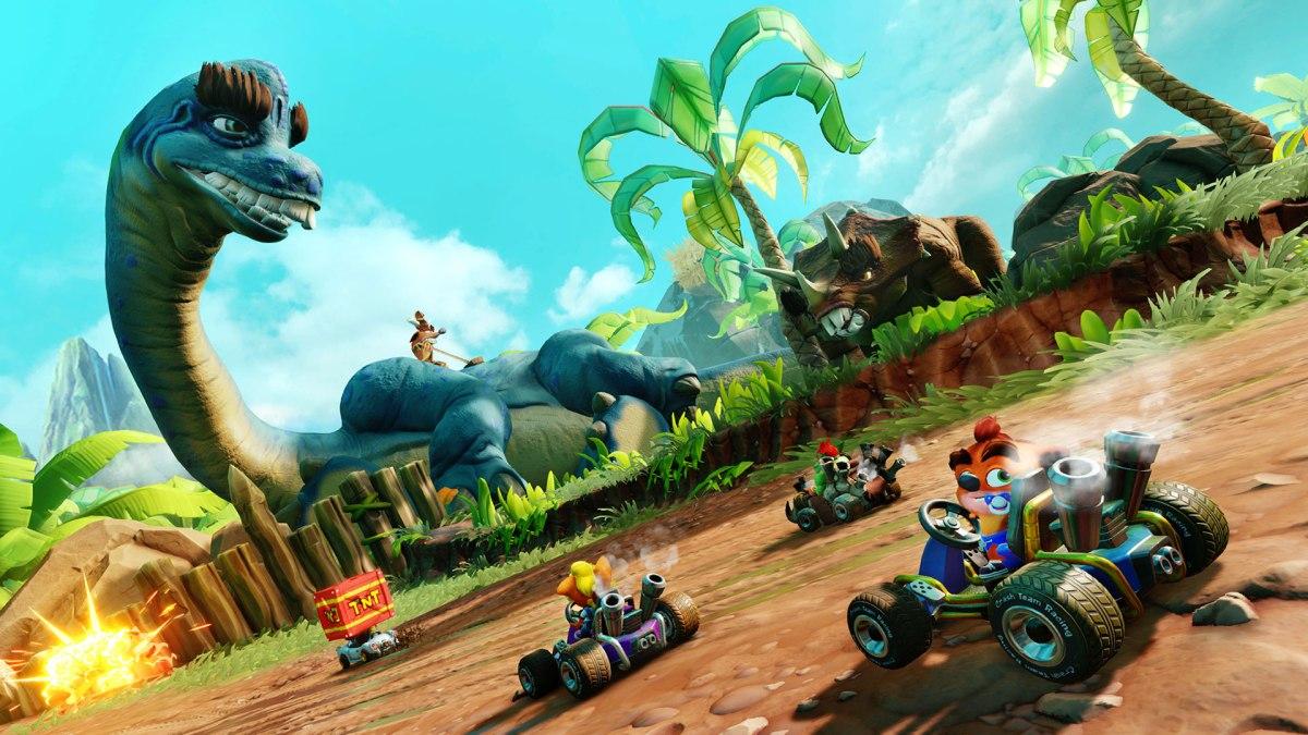 Crash Team Racing Nitro Fueled añadirá microtransacciones en su siguienteactualización