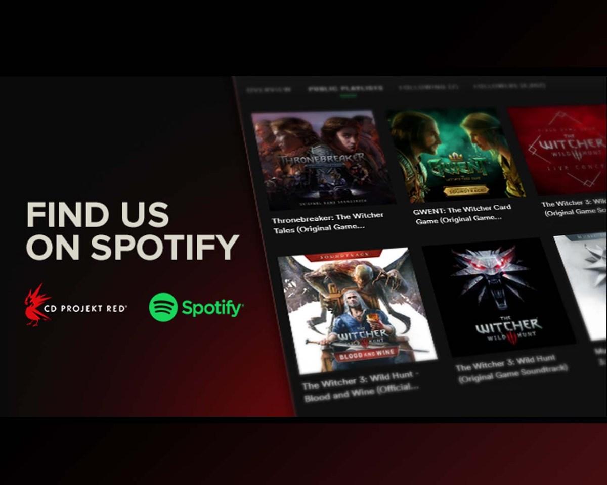 CD Projekt RED se une a Spotify con 8 listas de The Witcher 3 yGwent