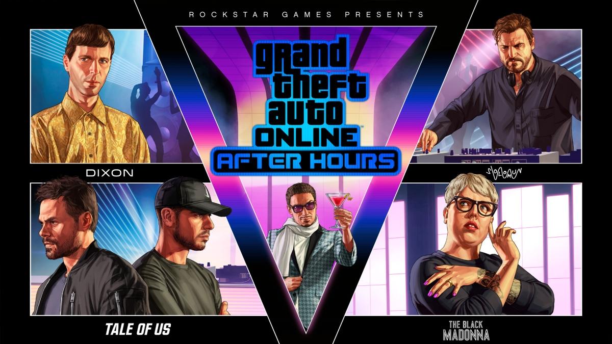 GTA V After Hours ya estadisponible