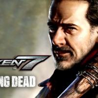 Negan gameplay de presentación en Tekken 7