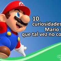 10 curiosidades sobre Mario Bros que quizás no conocías