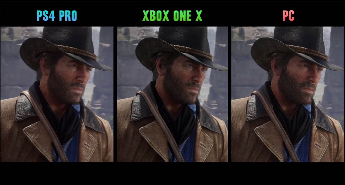 Red Dead Redemption 2 PC vs PS4 Pro vs Xbox One X