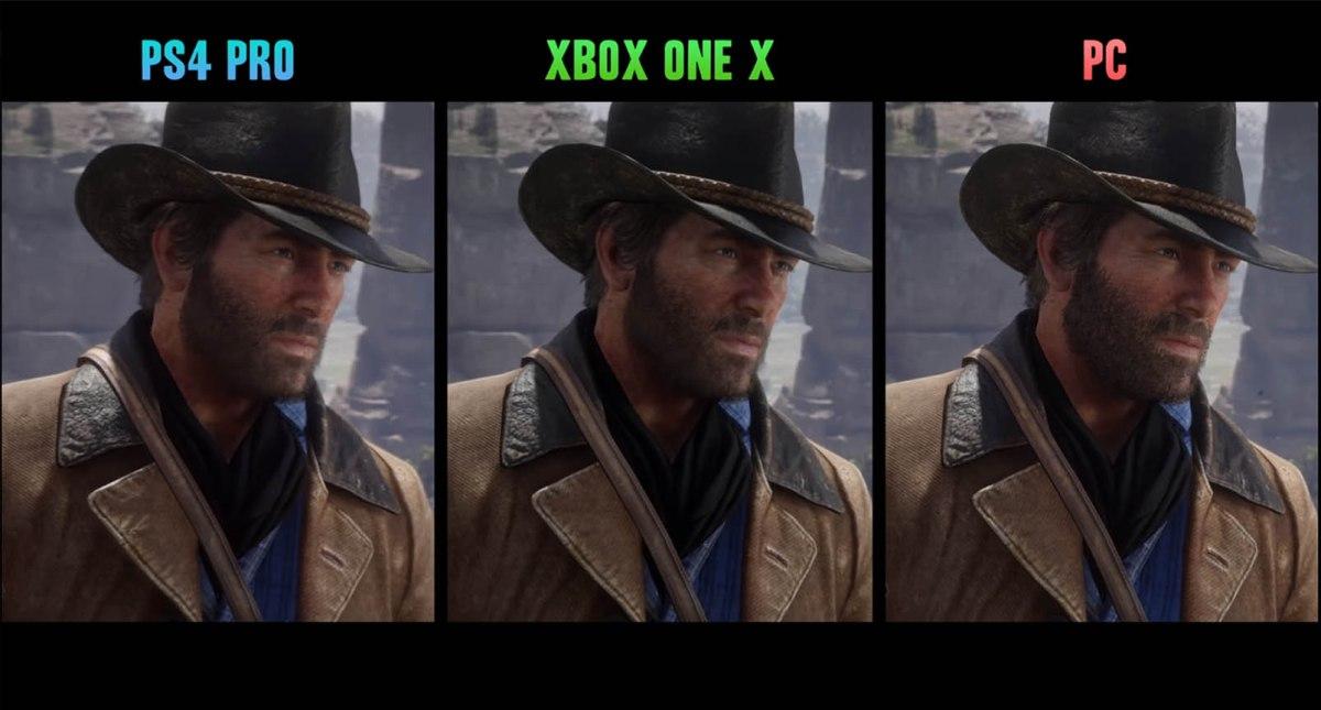 Red Dead Redemption 2 PC vs PS4 Pro vs Xbox OneX