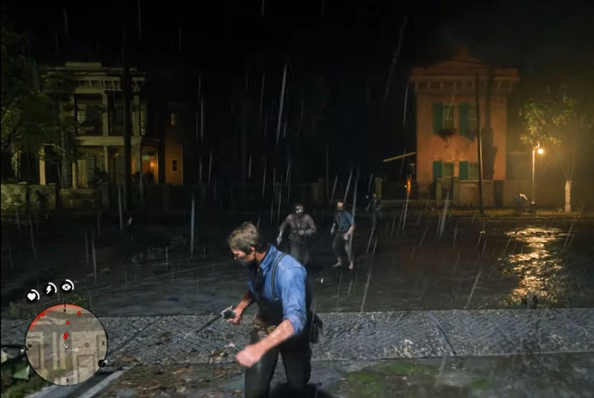 Los Zombies se apoderan de Red Dead Redemption2