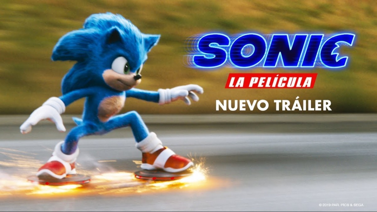 Así se ve el rediseño de Sonic en su nuevotrailer
